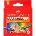 Faber-Castell Восковые карандаши Клоун 24 цвета