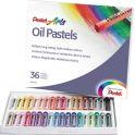 """Пастель масляная Pentel """"Oil Pastels"""", 36 цветов. PHN-36"""