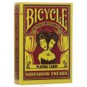 "Игральные карты Bicycle ""Sideshow Freaks"", цвет: желтый"