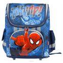 """Ранец школьный Kinderline """"Spider-man Classic"""", цвет: синий, красный"""