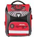 """Ранец школьный Hummingbird """"Royal Racing"""", цвет: серый, красный, черный. H6"""