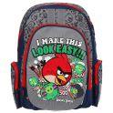 """Рюкзак детский Академия Групп """"Angry Birds"""", цвет: серый, синий, красный. ABBB-UT1-836M"""