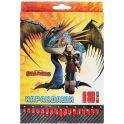 """Action! Цветные карандаши """"Dragons"""", 18 цветов. DR-ACP205-18_голубой"""