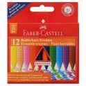 Faber-Castell Восковые мелки Radierbare Kreiden стирающиеся 12 цветов