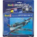 Revell Набор для сборки и раскрашивания Cамолет Supermarine Spitfire Mk V