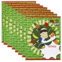 Action! Набор тетрадей в клетку Fruit Ninja цвет зеленый 24 листа 8 шт