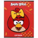 Hatber Тетрадь Angry Birds 48 листов в клетку цвет красный желтый