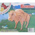 Мир деревянных игрушек Деревянная модель Бизон