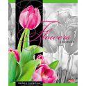 Hatber Тетрадь Flowers 48 листов в клетку в ассортименте