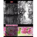 Hatber Тетрадь Цветущие пейзажи 60 листов в клетку цвет розовый