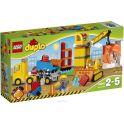 LEGO DUPLO Конструктор Большая стройплощадка 10813
