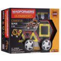 Magformers Магнитный конструктор XL Cruiser Set цвет красный желтый