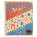 Hatber Тетрадь France 96 листов в клетку
