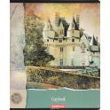 Erich Krause Тетрадь С видом на замок 96 листов в клетку цвет зеленый