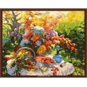 """Набор для рисования по номерам Цветной """"Праздник лета"""", 40 x 50 см"""