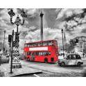 """Набор для рисования по номерам Цветной """"Лондонский автобус"""", 40 x 50 см"""
