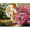 """Набор для рисования по номерам Цветной """"Ангел хранитель"""", 50 x 65 см"""
