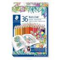 Staedtler Набор цветных карандашей Noris Club Johanna Basford 36 цветов