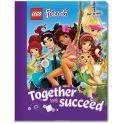 LEGO Friends Тетрадь 100 листов в линейку 51604