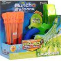 Zuru Водяное оружие Bunch O Balloons с пусковым устройством цвет зеленый оранжевый