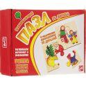 Развивающие деревянные игрушки Пазл для малышей Репка 4 в 1