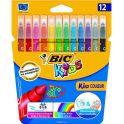 Bic Фломастеры Kid Couleur смываемые 12 цветов