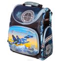 """Ранец школьный Hummingbird """"Iron Maiden Army"""", цвет: тесно-синий, голубой. K75"""