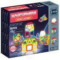 Magformers Магнитный конструктор Neon Led Set
