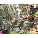 """Набор для рисования по номерам Цветной """"Звери у водопада"""", 40 х 50 см"""