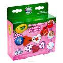 Crayola Набор для лепки Бусы из сердечек