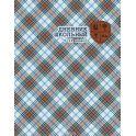 Феникс+ Дневник школьный Шотландка цвет серый