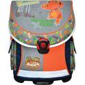 Action! Ранец школьный Dinosaur Train цвет синий серый оранжевый