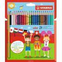 Stabilo Набор цветных карандашей Color 24 цвета 1924/77-11