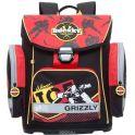 Grizzly Ранец школьный цвет черный RA-675-3