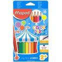 Maped Набор цветных карандашей Color' Peps Maxi 12 цветов