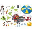 Playmobil Игровой набор Охотники за привидениями Лизун и торговая тележка с хот-догами