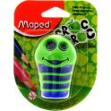 Maped Точилка Сroc Croc цвет зеленый синий