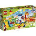 LEGO DUPLO My Town Конструктор Семейный парк аттракционов 10841