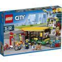 LEGO City Town Конструктор Автобусная остановка 60154