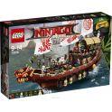 LEGO NINJAGO Конструктор Летающий корабль Мастера Ву 70618