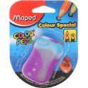 Maped Точилка Color Pep's двойная цвет голубой фиолетовый