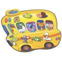 Знаток Игровой музыкальный коврик Автобус-зоопарк и человек-оркестр 2 в 1