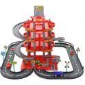 Полесье Парковка 4 уровня с дорогой и автомобилями цвет красный