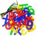 Анданте Обучающая игра Набор-шнуровка Цифры и Знаки