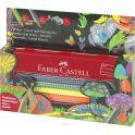 Faber-Castell Набор цветных карандашей Jumbo Grip в пенале с точилкой 10 шт