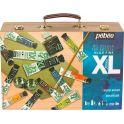 Pebeo Краска масляная подарочный набор XL в деревянном кейсе 12 цветов 920662 20 мл