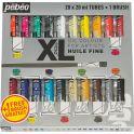 Pebeo Краска масляная набор XL с кистью 20 цветов 920221 20 мл