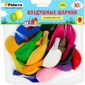 """Воздушные шарики """"Paterra"""", 30 см, круглые, 30 шт"""