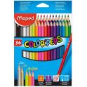 "Карандаши цветные Maped ""Color' Peps"", 36 цветов"