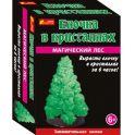 Ranok Набор для опытов Елочка в кристаллах цвет зеленый